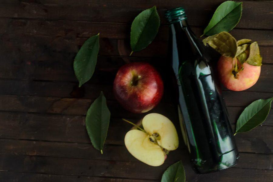 علاج الهربس الفموي بخل التفاح