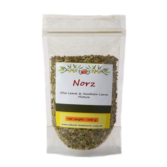 Hawthorn and Olive Leaf Tea