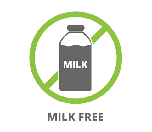 Without milk and milk products