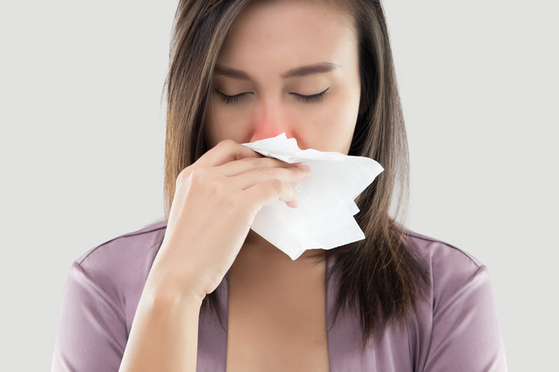 Causes for Nasal Congestion and Possible Symptoms