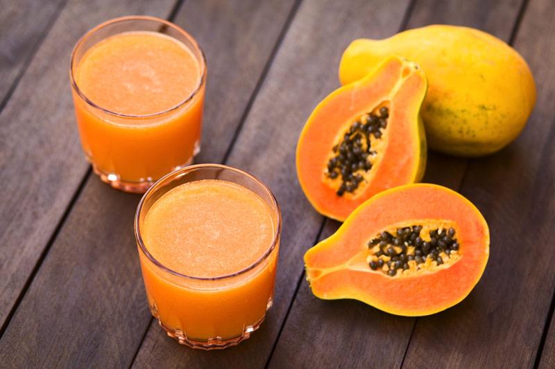 Fresh Papaya Juice for Cancer Patients