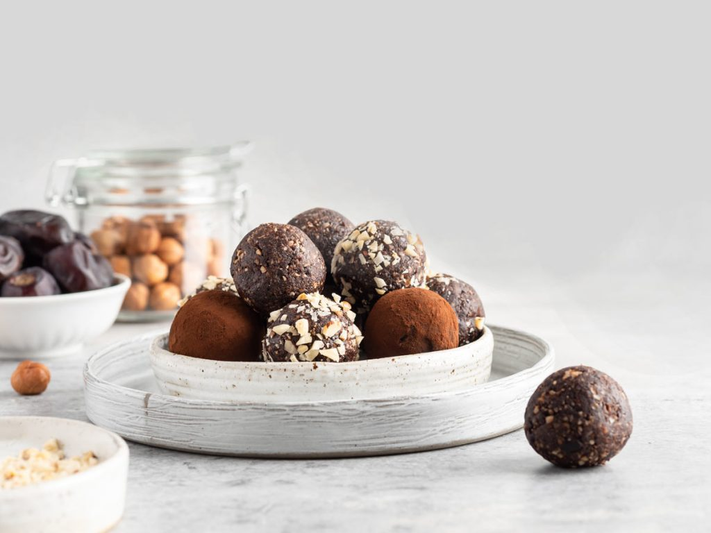 Tahini- Date Balls for MS Patients