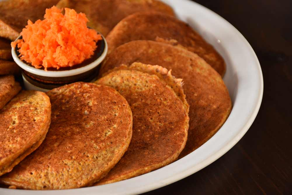 Healthy Vegan Carrot Pancakes for Diabetes Patients – Do Not Deny Yourself Desserts