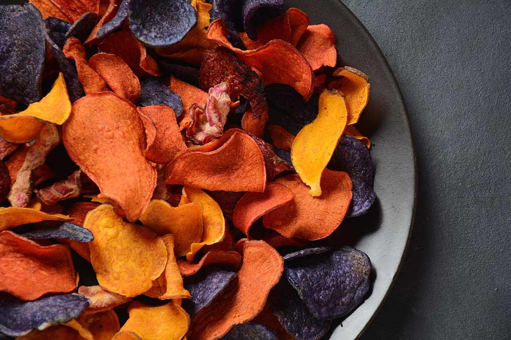 Potato And Beetroot Chips for Herpes Patients