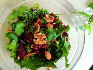 Beetroot Watercress Salad for Sperm