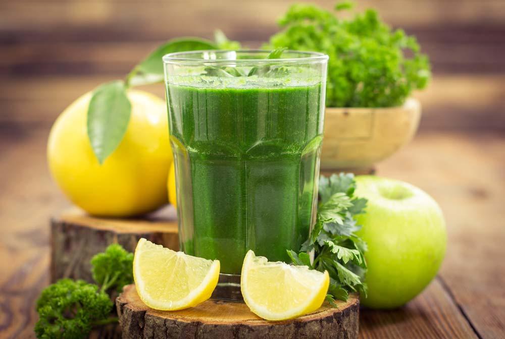 Fresh Vegetable Juice for Infertility