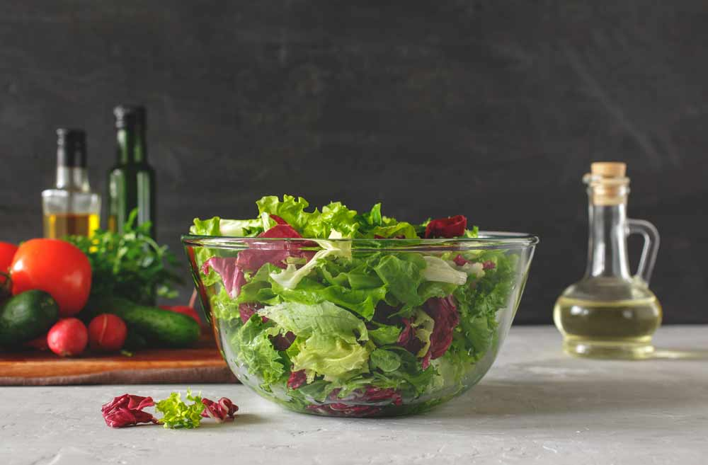 Green Salad to Boost Fertility: A Homemade Side Dish