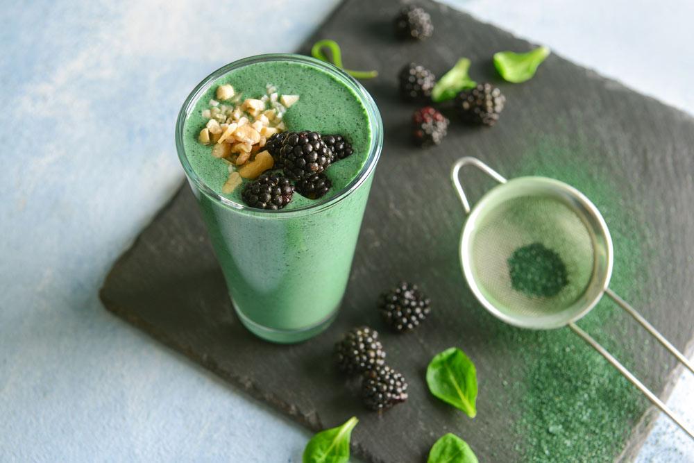 Green Spirulina Drink for Infertility: A Coffee Alternative