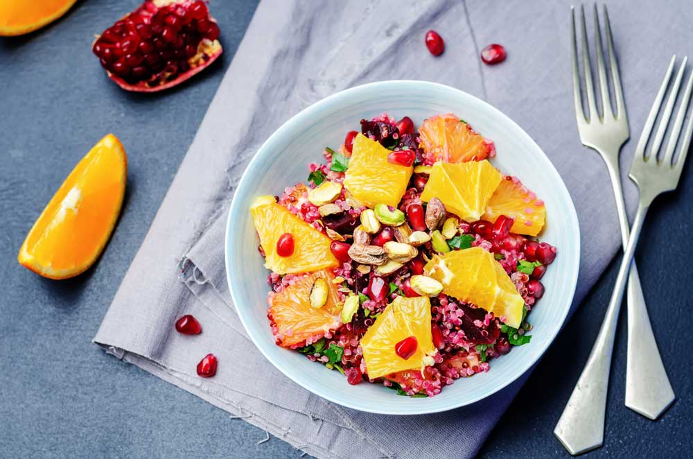 Quinoa and Beetroot Tabbouleh for Infertility in Men