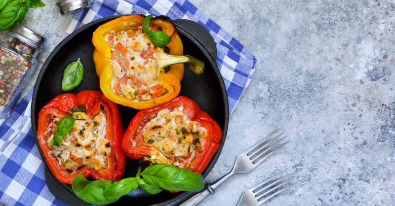 Stuffed Bell Peppers for Sugar
