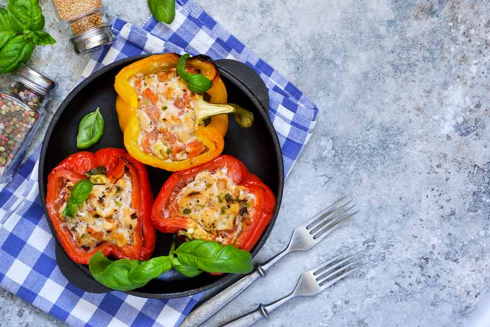 Stuffed Bell Peppers for Sugar Levels