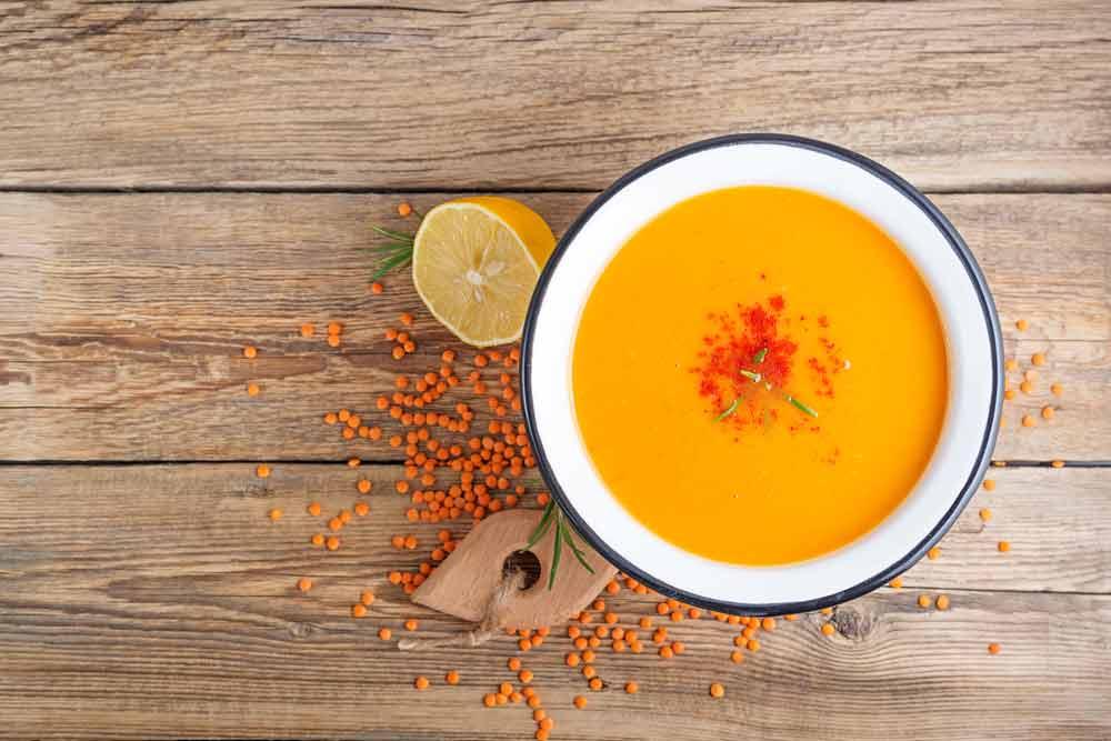 Vegetables Lentil Soup to Manage Diabetes
