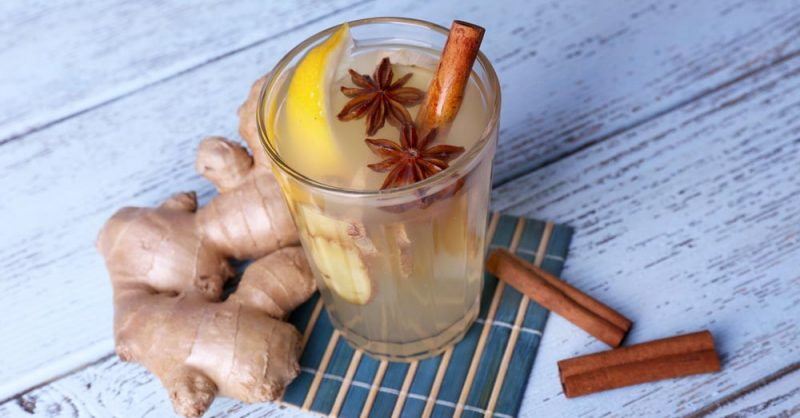 Warm Ginger Drink for Diabetes