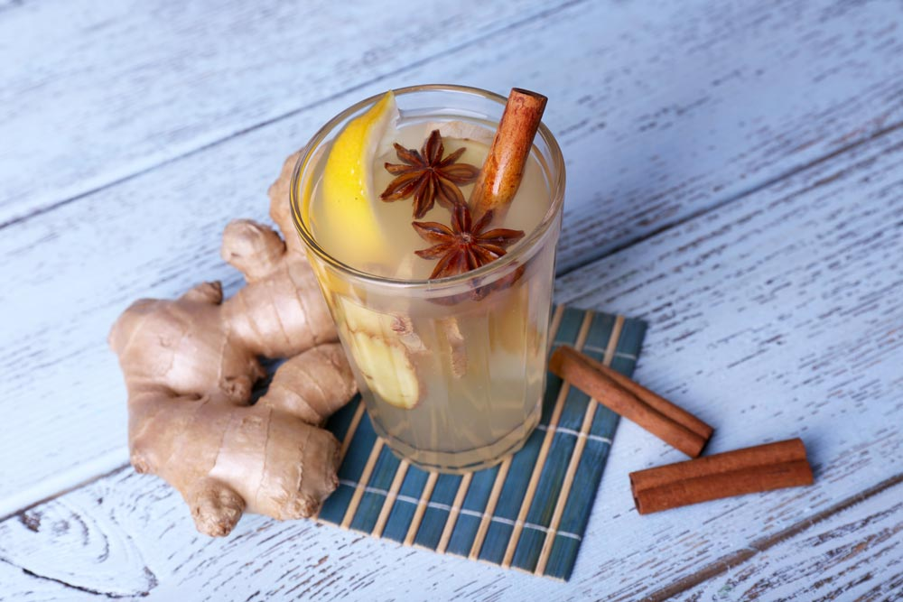 Ginger Drink to Control Sugar Levels