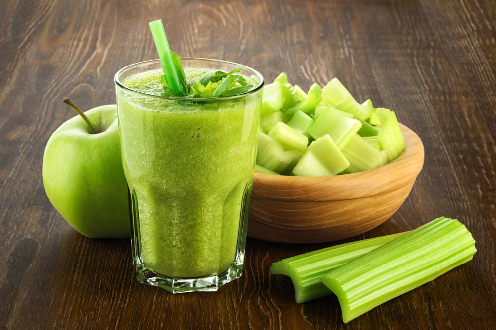 Celery Apple Juice for HSV: Juice for Immunity-Boosting