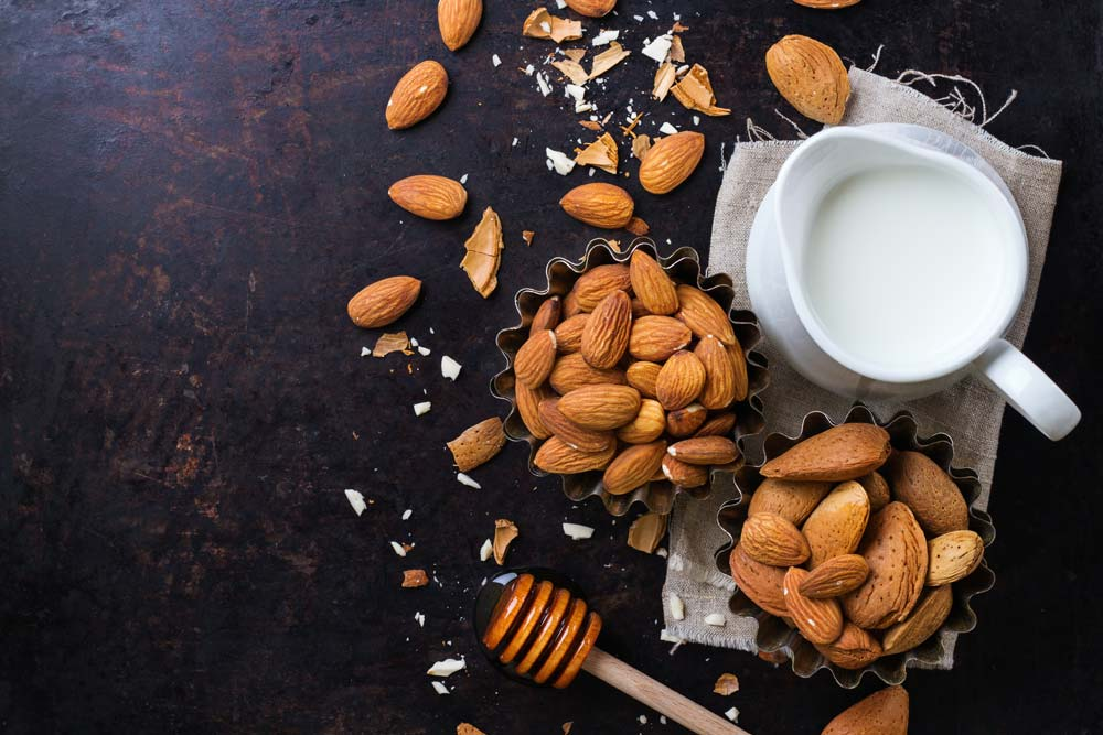 Almond Milk for Parkinson's Disease
