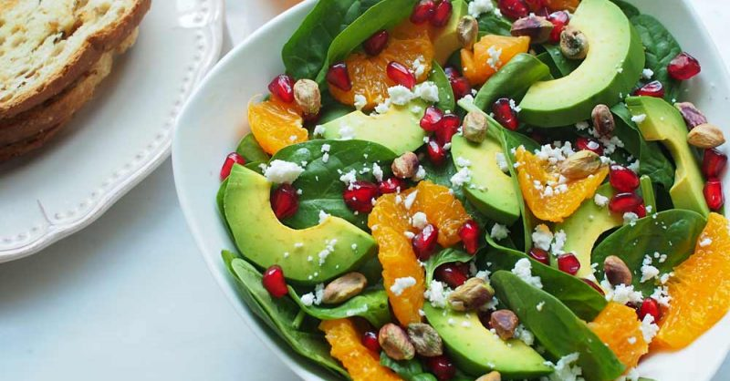 Avocado and Pomegranate Salad for Multiple Sclerosis