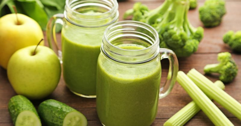 Healthy Green Juice for MS Patients