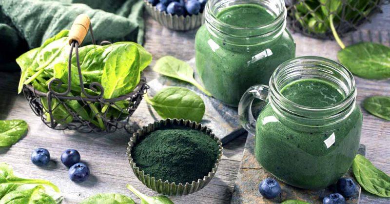 Immunity Boosting Spirulina Drink