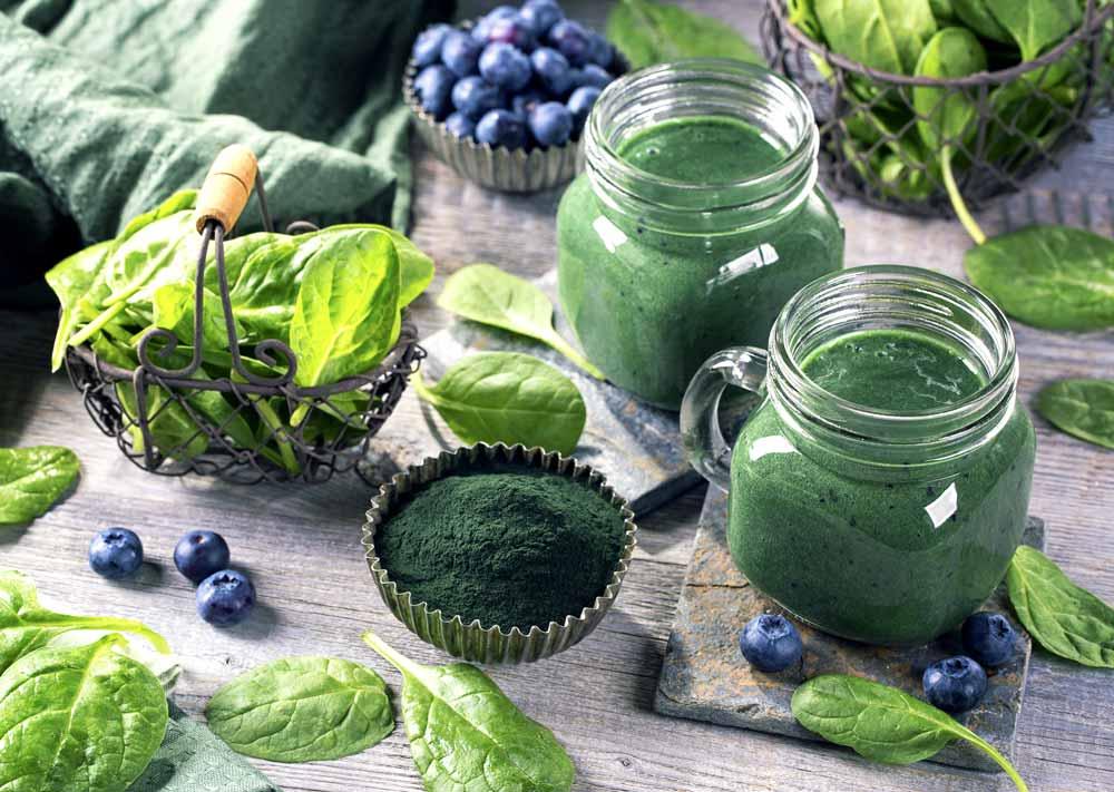 Immunity-Boosting Spirulina Drink