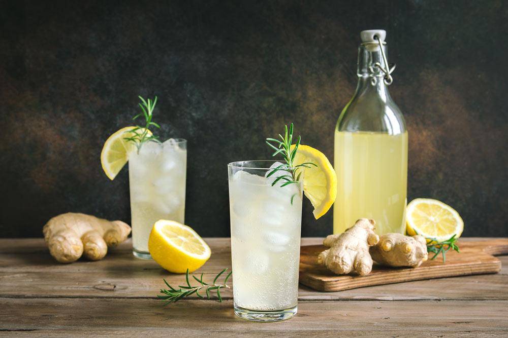 Lemon Ginger Drink for Endometriosis