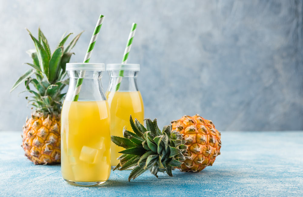Pineapple Smoothie for Fighting Herpes