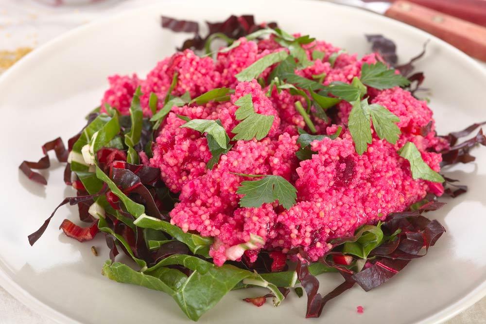 Quinoa Beetroot Tabbouleh for Endometriosis