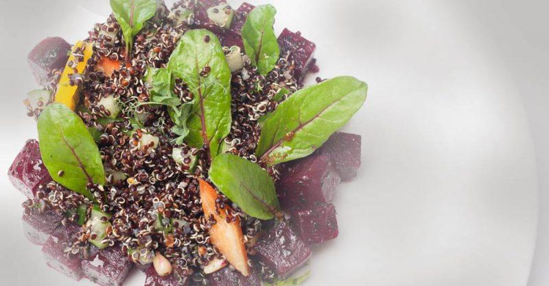 Quinoa Beets Salad for MS