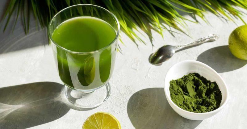 Refreshing Spirulina Beverage for Parkinson's
