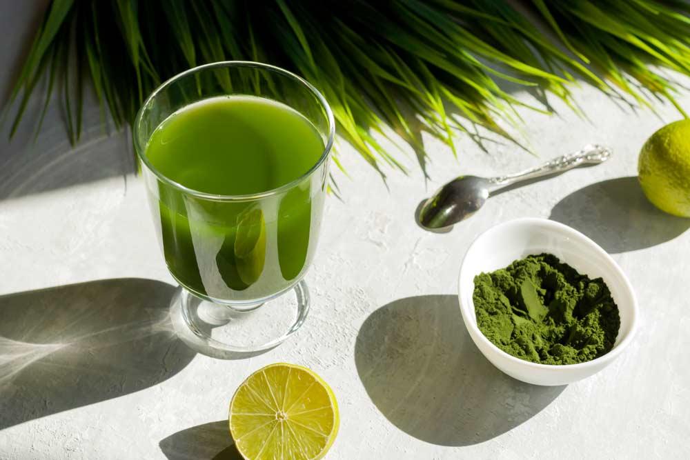 Refreshing Spirulina Beverage for Parkinson's Disease