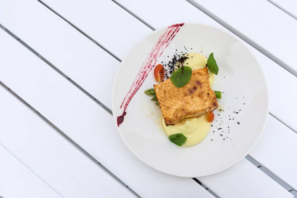 Salmon with Potato for HSV Patients