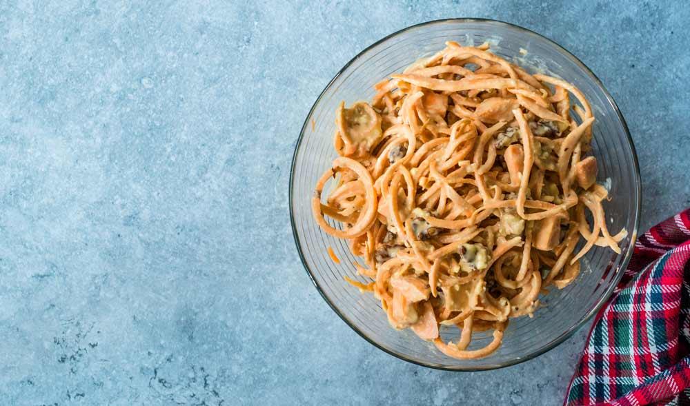 Sweet Potato Noodles for Parkinson's Patients