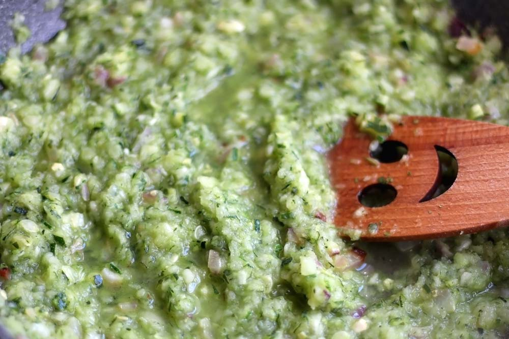 Zucchini Baba Ghanoush for HSV: Easy-to-Prepare Dish