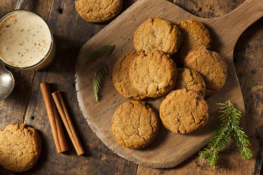 Cinnamon Ginger Biscuits for Uterine Fibroids
