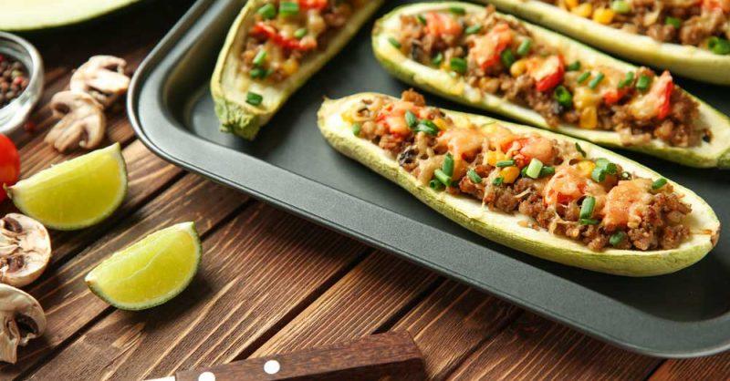 Delicious Zucchini Boats for Endometriosis