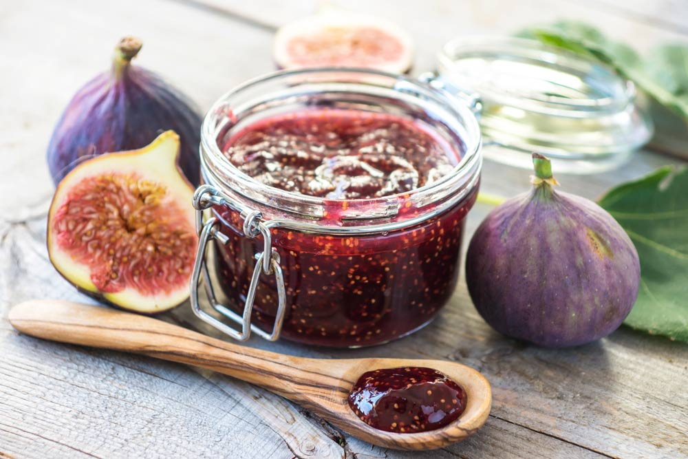 Fig Jam for Boosting Immunity and Fighting HSV