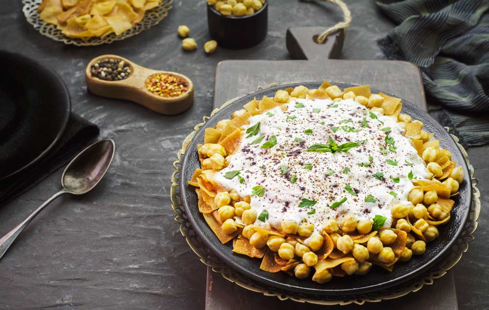 Fight Endometriosis with Chickpea Fatteh