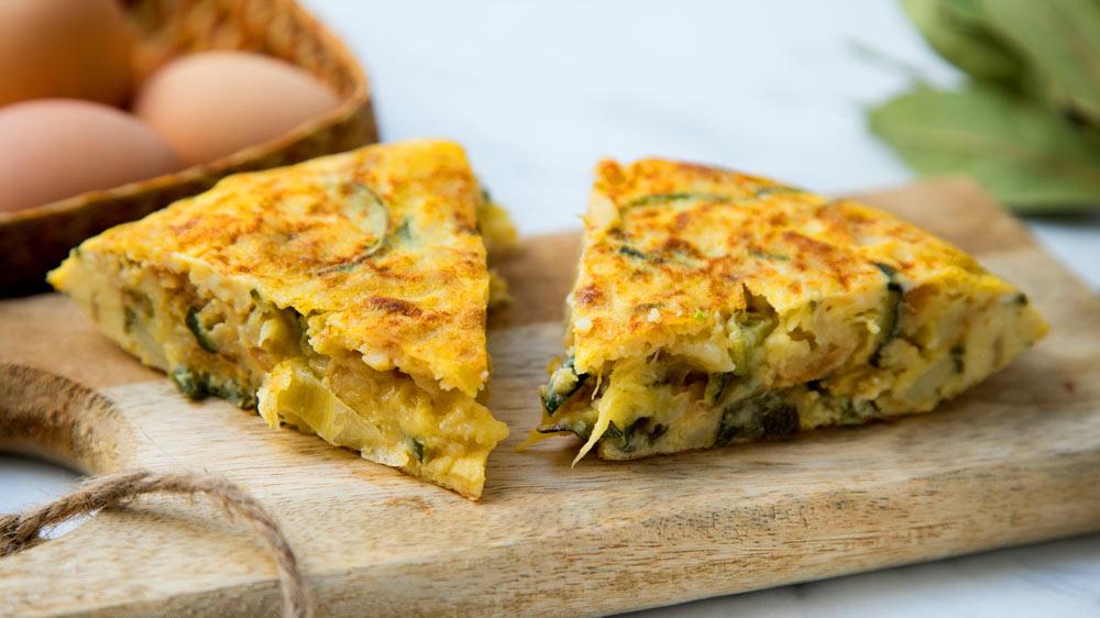 HSV Zucchini Omelet: Delicious Rich Breakfast