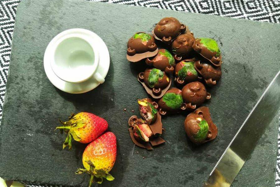 Hazelnut Chocolate Bites for Cancer