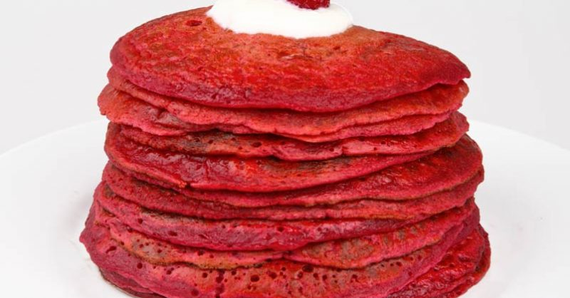 Healthy Beet Pancakes for Cancer