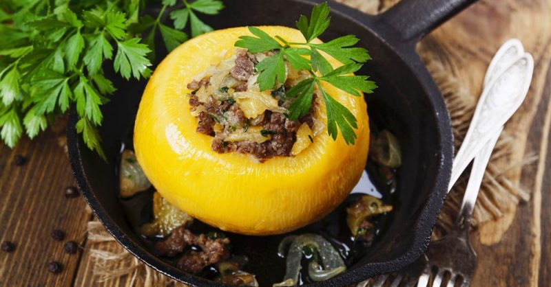 Manage Endometriosis with Stuffed Turnip