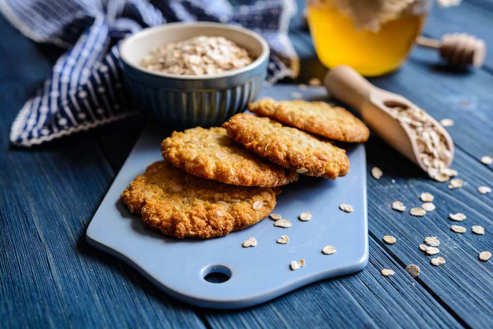 Millet Oat Biscuits for Uterine Fibroids