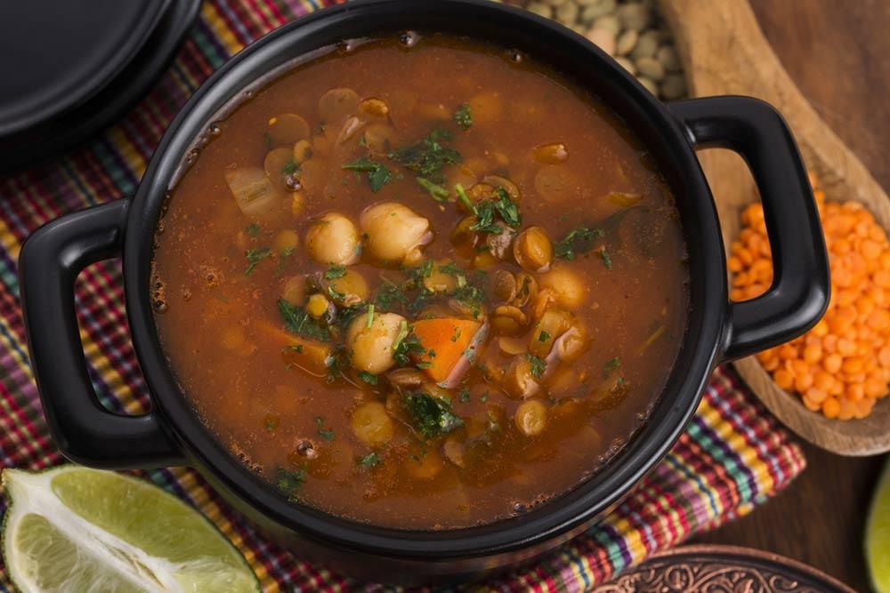 Moroccan Harira Soup for Myoma