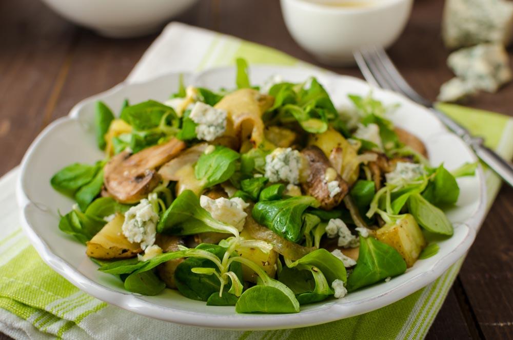 Mushroom Salad for Uterine Fibroids