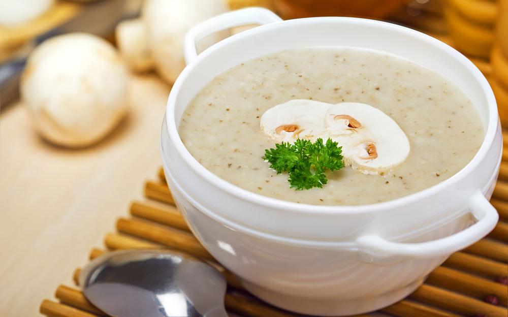 Mushroom Soup for Uterine Fibroids