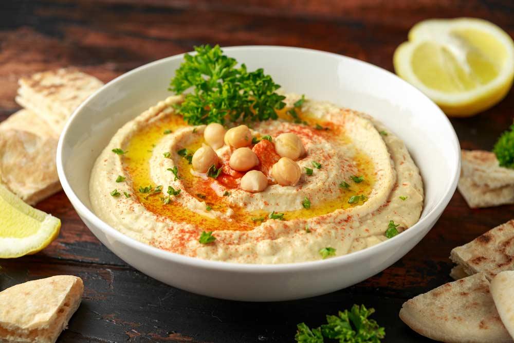 Overcome Myoma with Hummus and Tahini