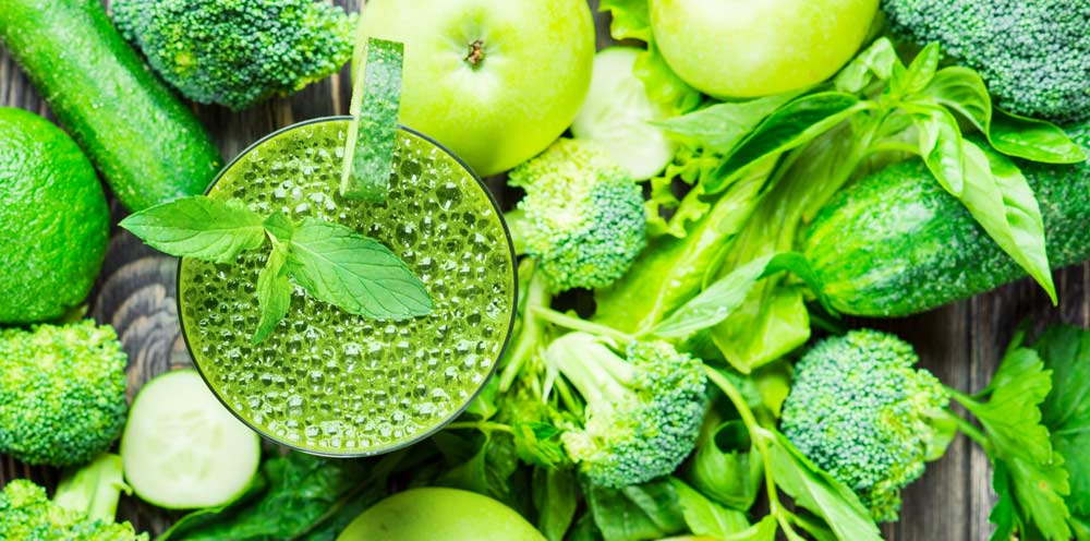 Refreshing Green Juice for Cancer