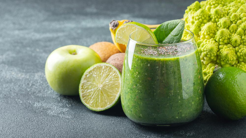 Refreshing Green Juice for Leiomyoma