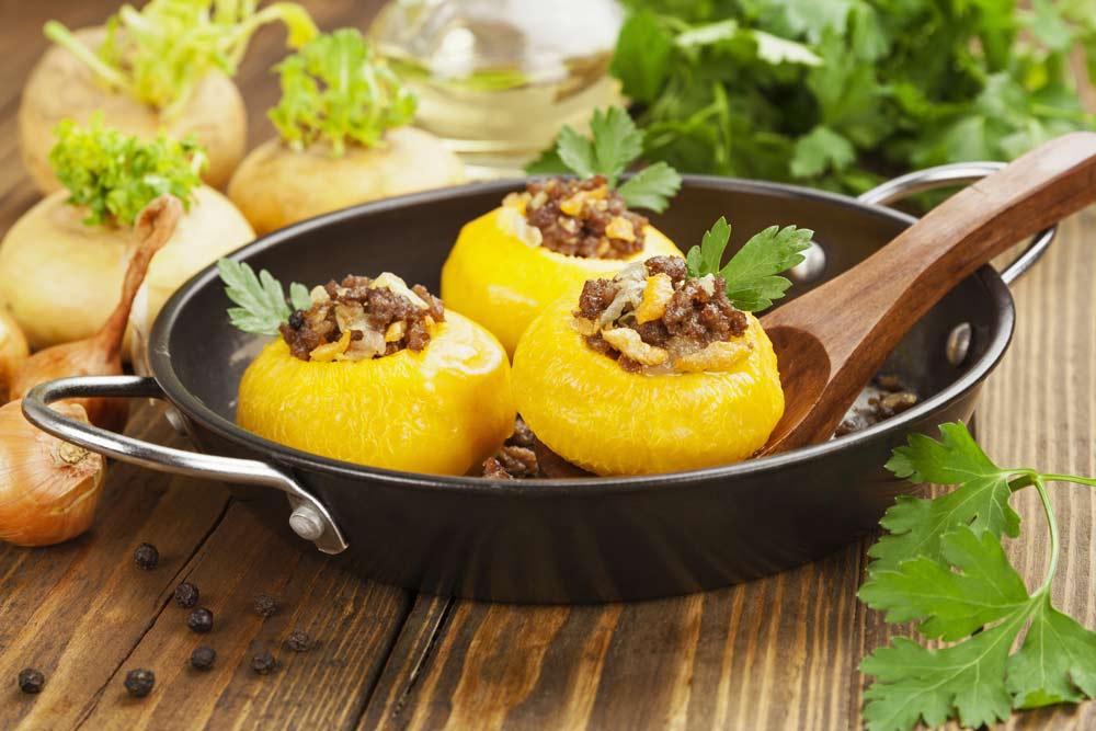 Stuffed Turnip Beneficial for Myoma
